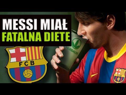 Messi wymiotował podczas meczów przez złą dietę.. Jak jest teraz?