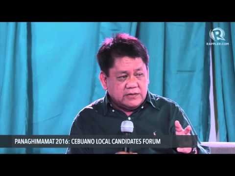 Q&A with Cebu City mayoral candidate Tommy Osmeña