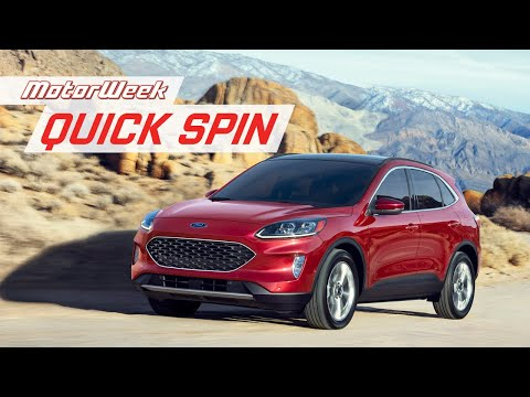 2020 Ford Escape | MotorWeek Quick Spin