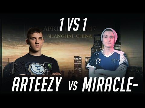 Arteezy vs Miracle- 1 vs 1 DAC 2017 Dota 2 by Time 2 Dota #dota2