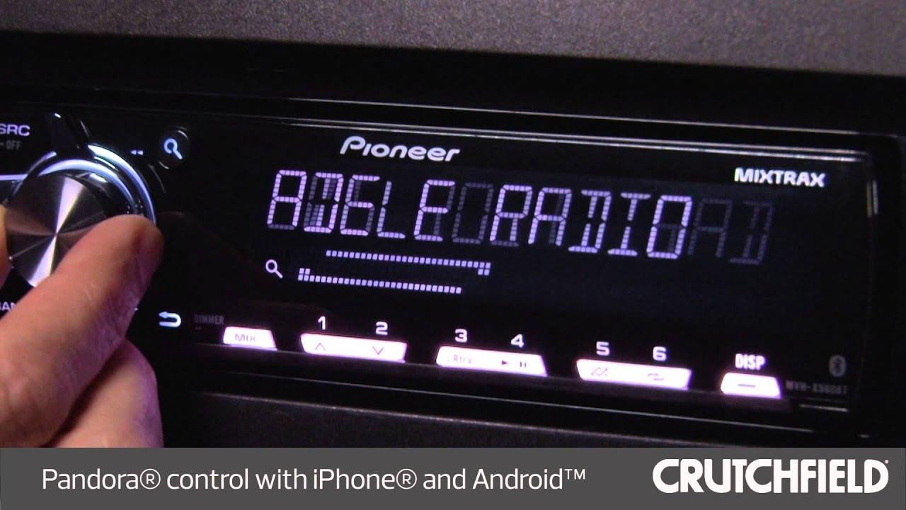 hight resolution of pioneer mvh x560bt display and controls demo crutchfield video youtube