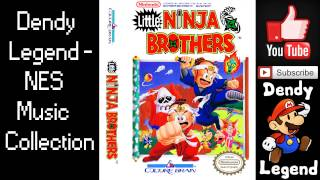 Little Ninja Brothers NES Music Song and game Soundtrack OST Музыка...
