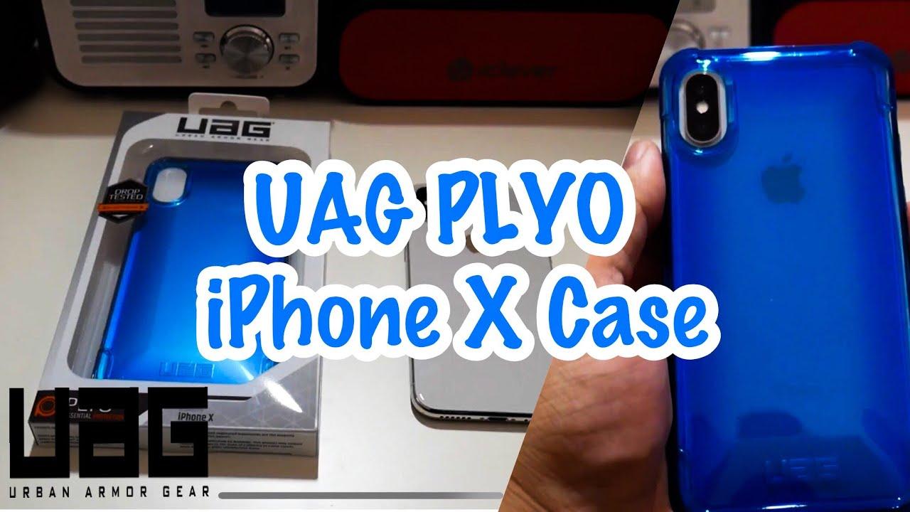 get cheap 93371 271a5 iPhone X: Blue UAG Plyo Series Case!