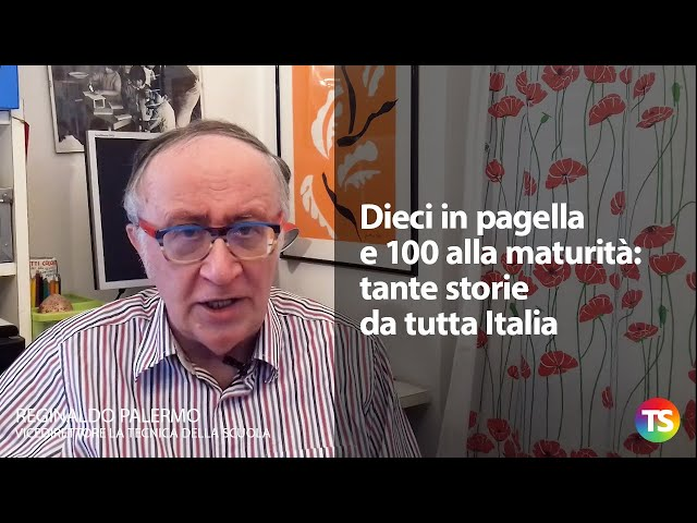 Dieci in pagella e 100 alla maturità: tante storie da tutta Italia