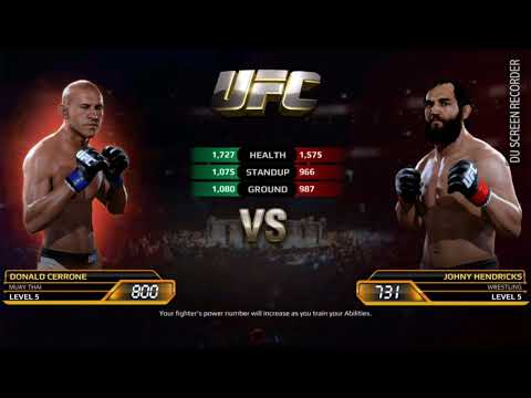 UFC Game EA SPORT || MMA GAME ANDROID