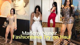 Fashionnova Try on Haul Marleny Nunez