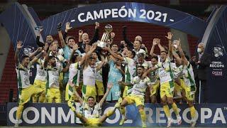 Palmeiras vs. Defensa y Justicia [1-2] | CONMEBOL Recopa 2021: ¡DEFENSA CAMPEÓN!