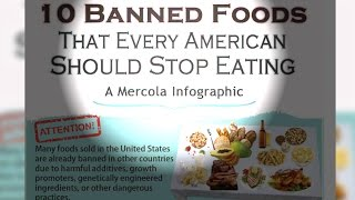 10 Banned Foods Americans Should Stop Eating