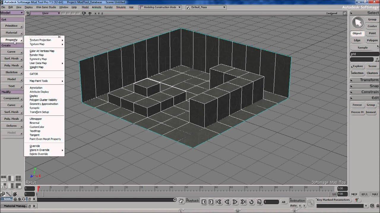 softimage xsi mod tool 7.5 free download