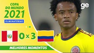 Перу  0-3  Колумбия видео