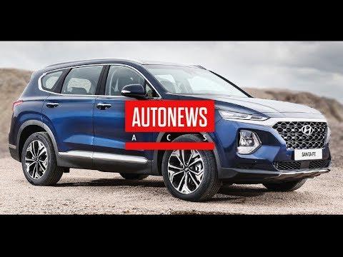 Новый Hyundai Santa Fe все подробности о кроссовере