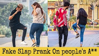 Fake Slap Prank On Cute Girls | Prank in Pakistan