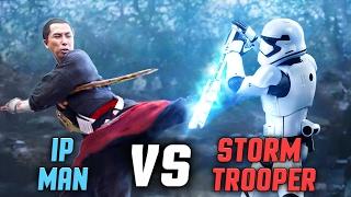 Star Wars Rogue One: Ip Man vs Storm Trooper FIGHT SCENE! Fan-Made