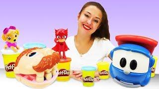 Видео про игрушки из мультфильмов. Куклы и машинки в гостях!