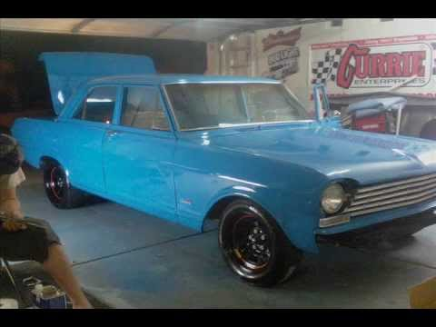 1962 chevy II nova budget hot rod build out of left over spare and used  parts homemade paintbooth