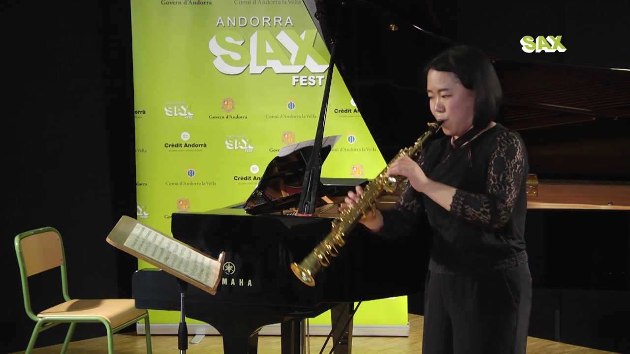 YUKO SAYAMA - 1st ROUND - V ANDORRA INTERNATIONAL SAXOPHONE COMPETITION 2018