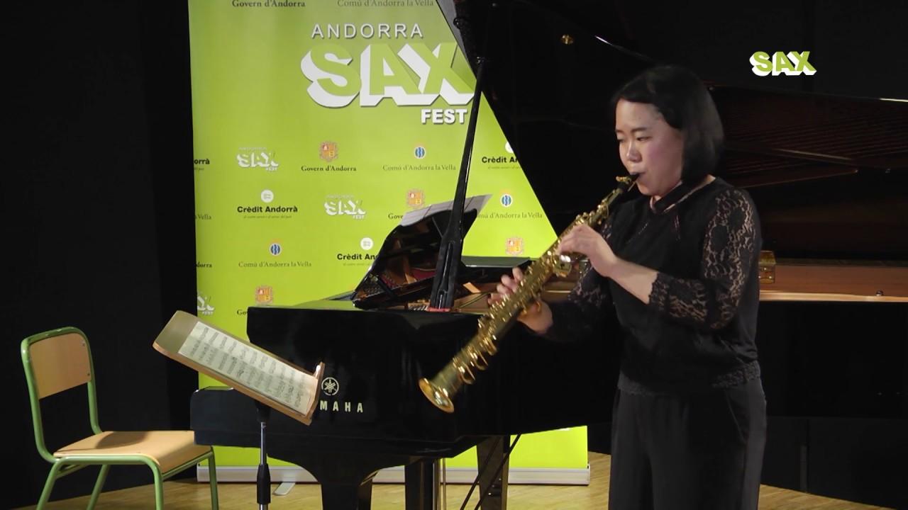 YUKO SAYAMA – 1st ROUND – V ANDORRA INTERNATIONAL SAXOPHONE COMPETITION 2018