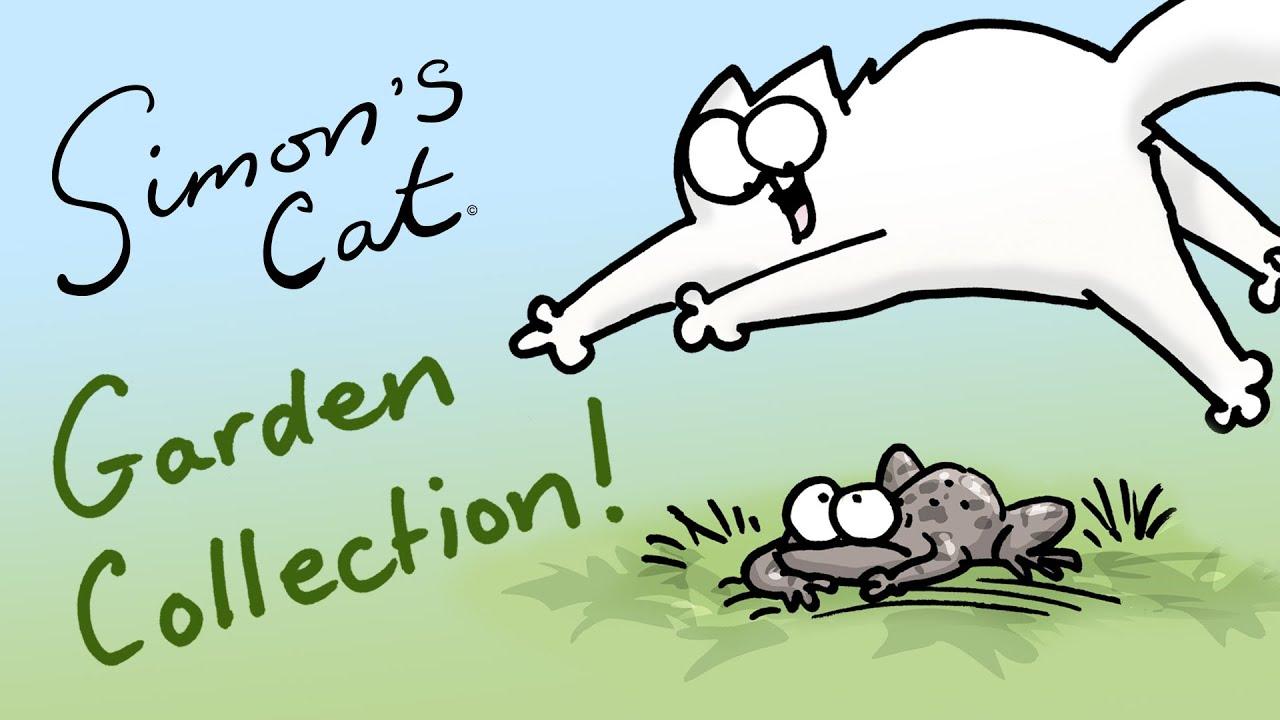 Resultado de imagen de simon's cat in the garden