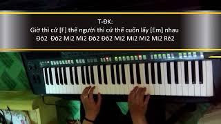 """Hướng Dẫn Cảm Âm Nốt """"MẶT TRỜI CỦA EM - PHƯƠNG LINH FT JUSTA TEE"""" l PIANO/ORGAN l Kris Nguyen"""