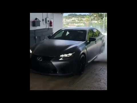 Lexus GS F ♠️ Burnout / Acceleration / Loud exhaust (#166)