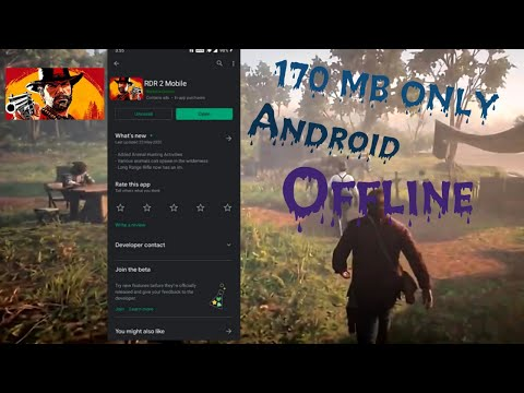 How To Download Red Dead Redemption 2 On Android | With Gameplay Proof (offline)