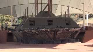 """""""USS Cairo"""", an Iron Clad Gunboat from the American Civil War, Vicksburg, Mississippi"""