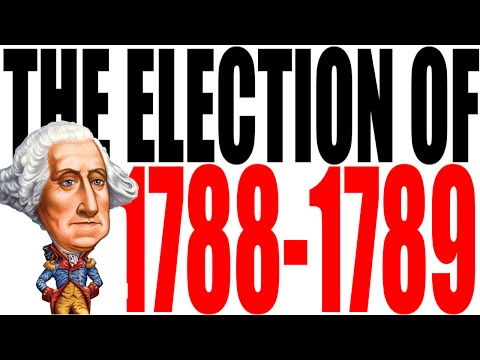 The First Presidential Election Explained