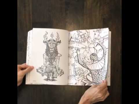 Epic Coloring Book By Doodlers Anonymous