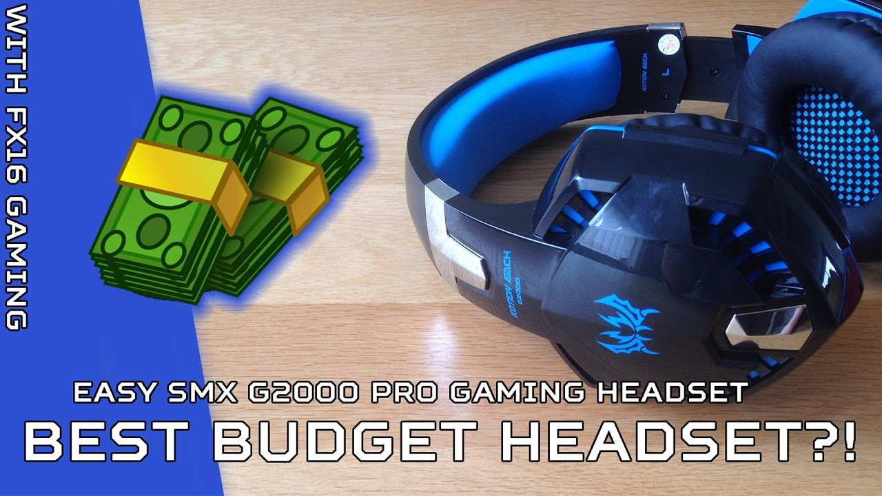 Easysmx Kotion Each G2000 Pro Gaming Headphones Best For The Price