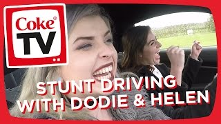 Dodie and Helen Anderson go STUNT DRIVING | #CokeTVMoment