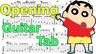 Video Learn How to Play Crayon Shin Chan Opening Fingerstyle Acoustic Guitar Lesson TABS download MP3, 3GP, MP4, WEBM, AVI, FLV Agustus 2018
