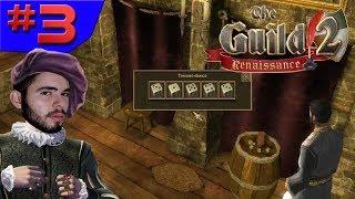 COMO FAZER DINHEIRO RÁPIDO!!! - The Guild 2 Renaissance #3 - (Gameplay/PC/PT-BR) HD