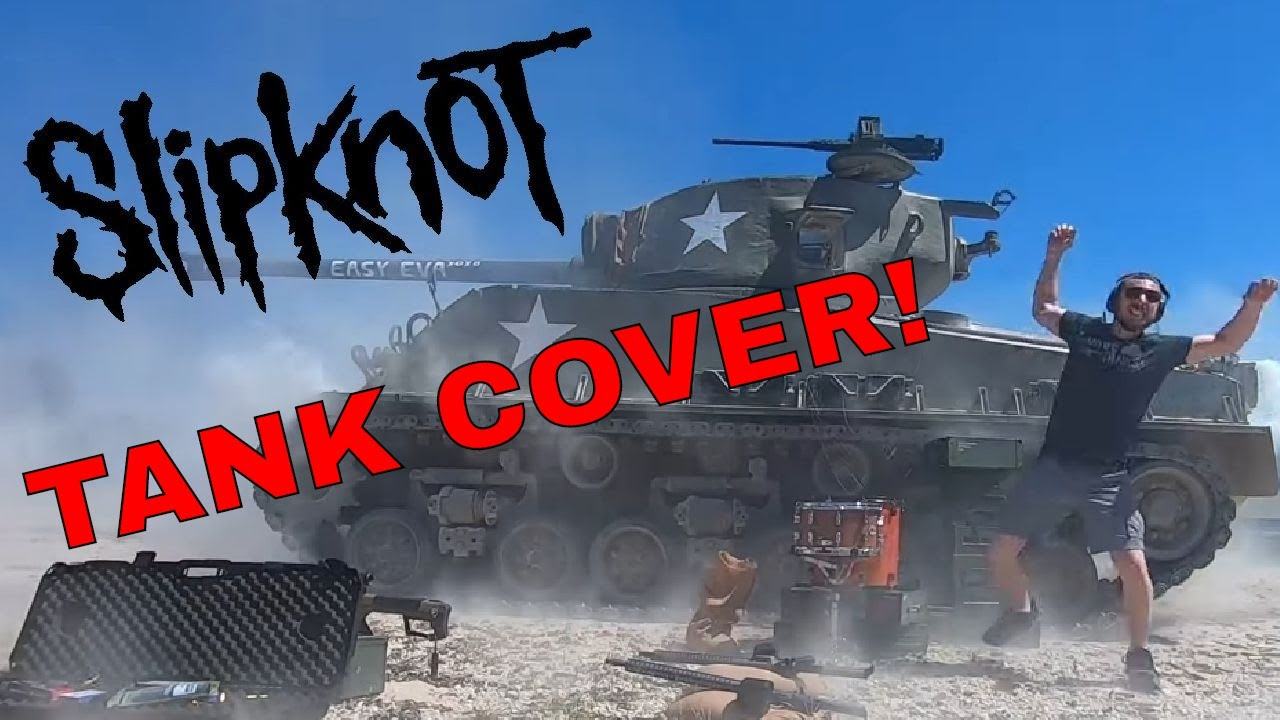 SLIPKNOT TANK COVER (People=Sh*t) by Gun Drummer #slipknot