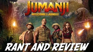 Jumanji: Welcome To The Jungle   Rant and Review