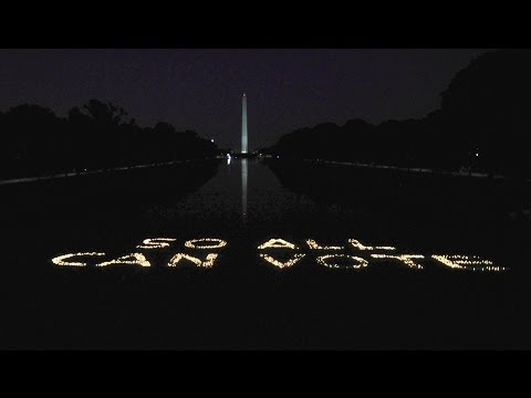 3,000 Candles at the Lincoln Memorial #SoAllCanVote