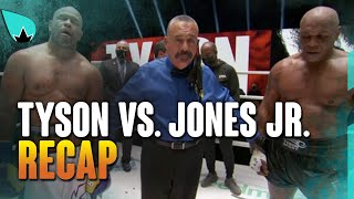 Mike Tyson vs. Roy Jones Jr. - RECAP & REACTION
