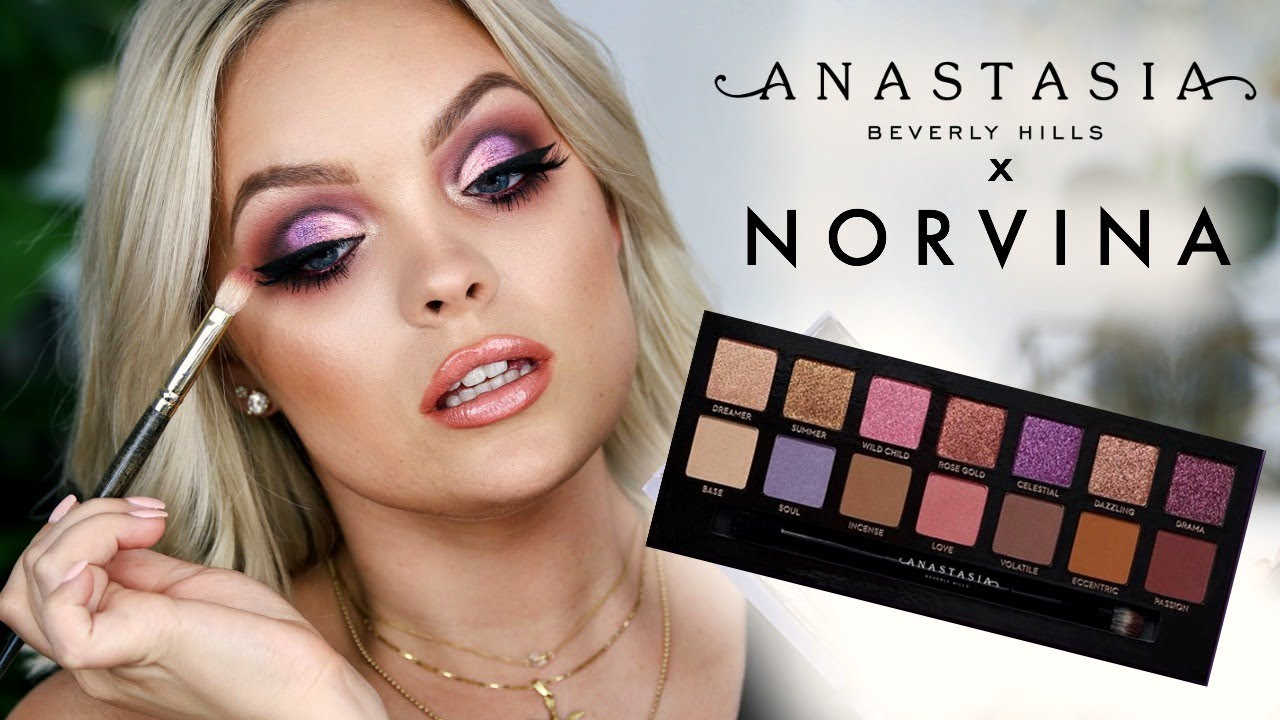 NEW ANASTASIA NORVINA PALETTE TUTORIAL