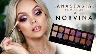 NEW! ANASTASIA NORVINA PALETTE TUTORIAL!