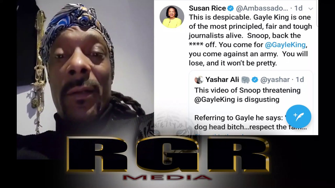 Image result for gayle king IG snoop dogg