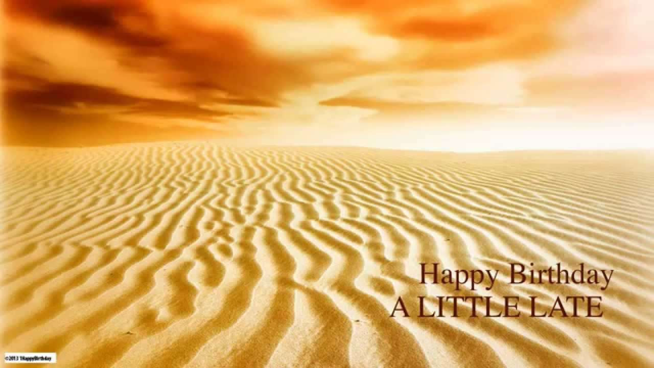 Alittlelate Belated Birthday Nature Naturaleza Happy Birthday