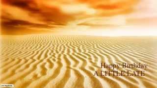 ALittleLate  Belated Birthday - Nature & Naturaleza - Happy Birthday