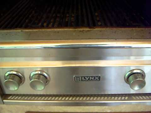 Lynx grill repair, grill cleaning, grill parts Miami 1-800-434-1750 Before video