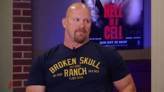 Kevin Nash on  Steve Austin and The  Rock