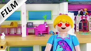 Playmobil Film deutsch | Wenn HANNAH die LUXUSVILLA einrichten dürfte! Neue Einrichtung Kinderserie