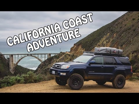 CALIFORNIA COAST ADVENTURE - OVERLAND STYLE - 4RUNNER