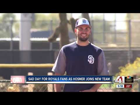 Sad day for Royals fans as Eric Hosmer joins San Diego Padres