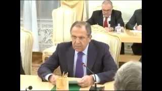 переговоры С.Лаврова и Ф.-В.Штайнмайера 18.11.2014