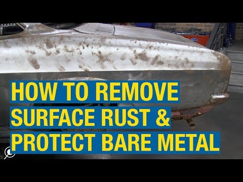 How to Remove Surface Rust & Protect Bare Metal - Fast Etch - Eastwood