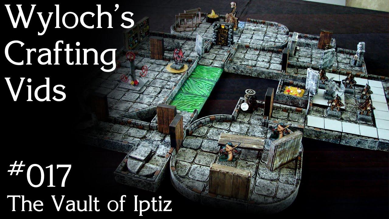 The Vault of Iptiz - One Shot for Dungeons & Dragons, Pathfinder (WCV 017)