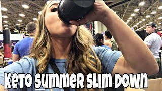 Keto Summer Slim Down Day 20   The Exhaustion has Set In... Video